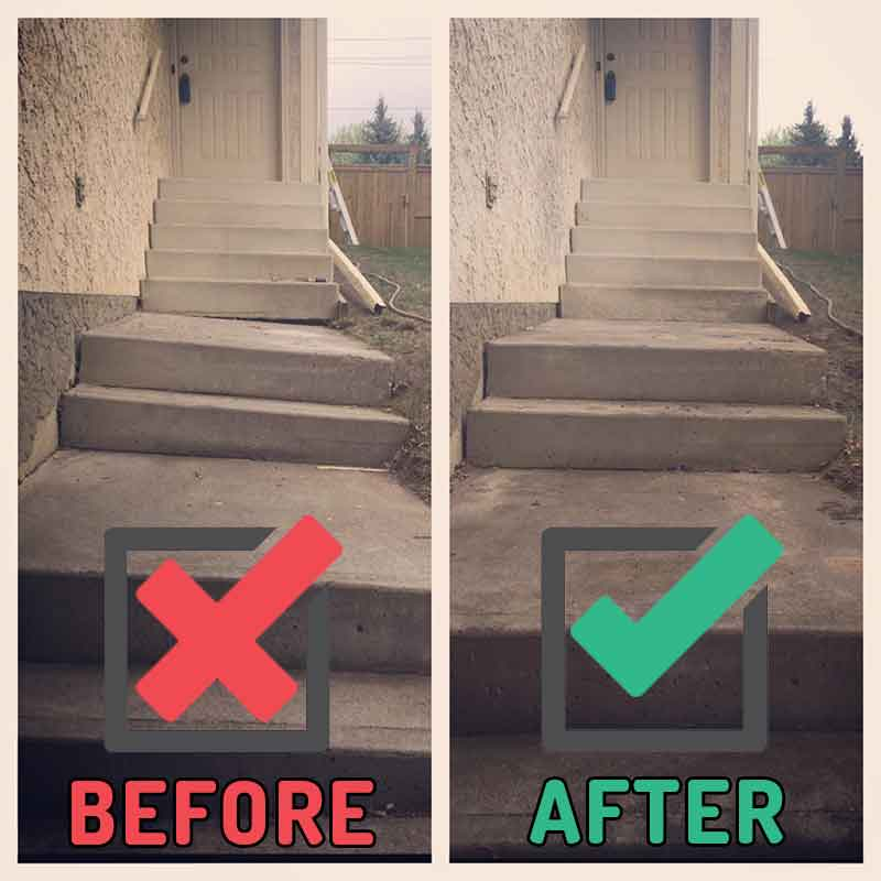 Genial Concrete Step Repair Calgary