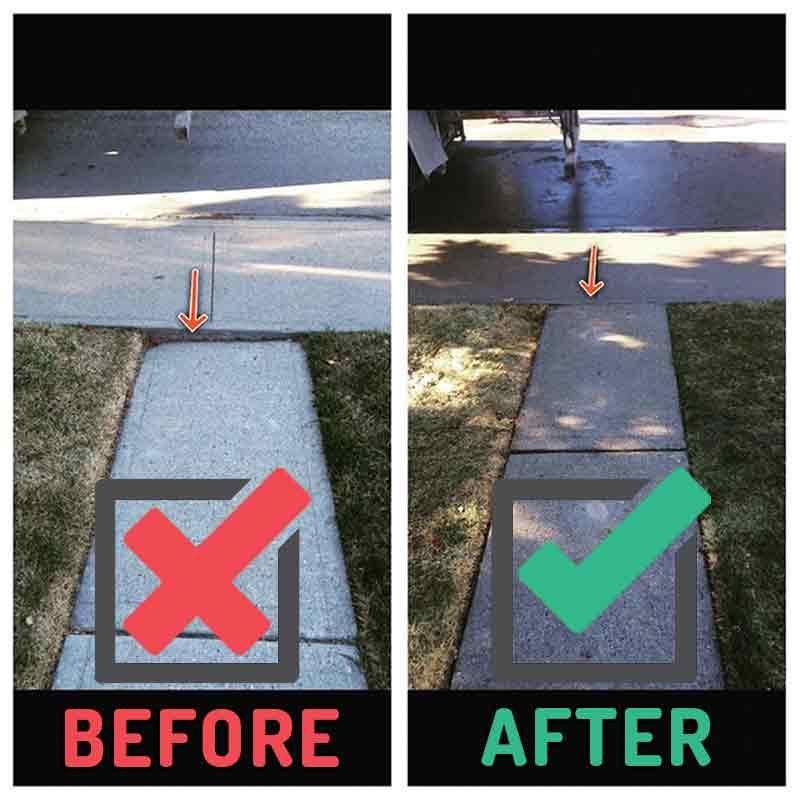 Walkway Repairs Calgary