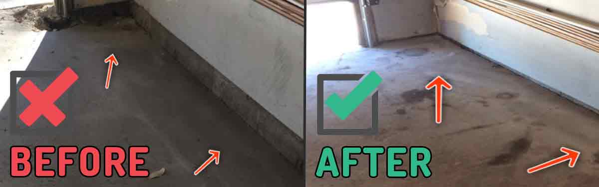 Garage Floor Repairs Calgary